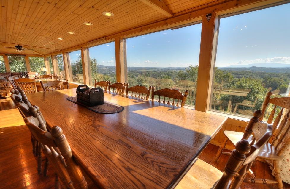 Cabin 98 6 Bedrooms Smoky Mountains Tn Oak Haven Resort Spa
